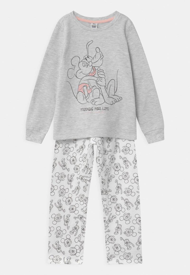 OVS - DISNEY MICKEY MOUSE & PLUTO - Pyžamová sada - grey melange