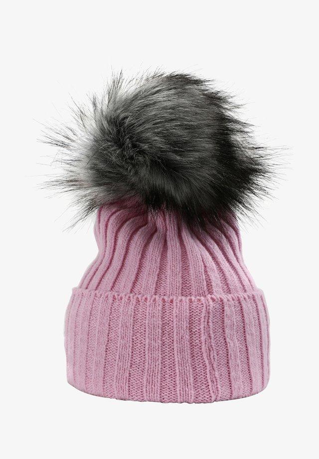 MIT STYLISHEM BOMMEL - Beanie - light pink