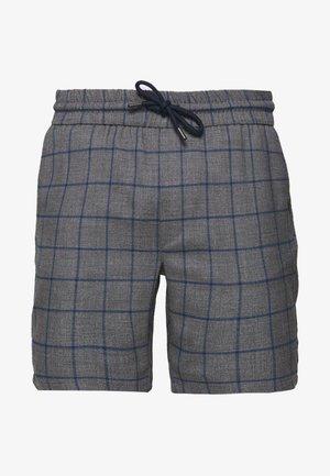 ONSLARRY CHECK - Shorts - titanium