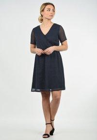 Blendshe - CHARLOTTE - Day dress - dark blue/royal blue - 1
