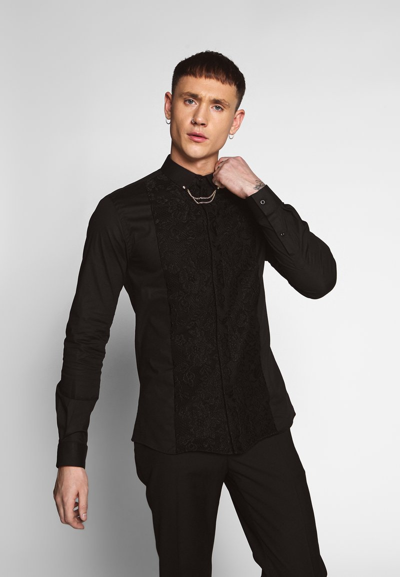 Twisted Tailor - FORM - Camicia - black