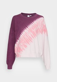 GAP - CREW  - Sweatshirt - burgundy tie dye - 3