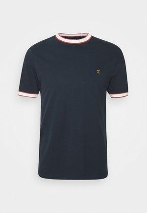 BIRMINGHAM TEE - Jednoduché triko - true navy