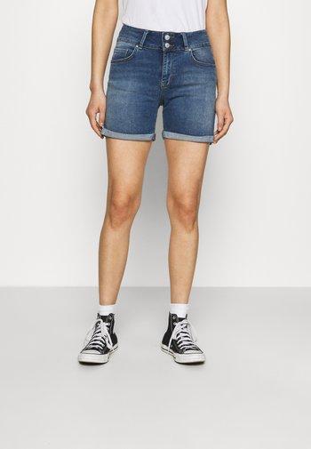 BECKY - Denim shorts - rosali undamaged wash