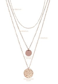 CHIC by Lirette - Necklace - rosegold - 3