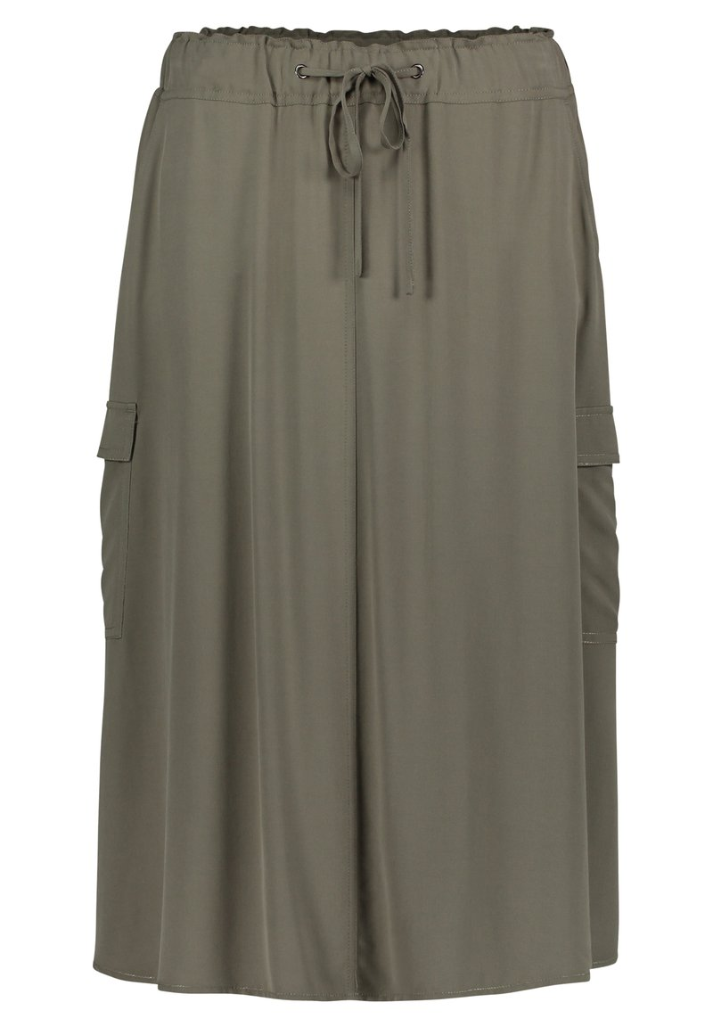Betty Barclay - A-line skirt - dusty olive