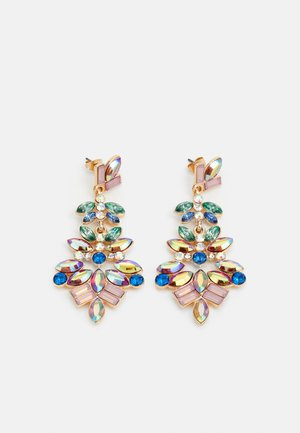 PCMARYN EARRINGS  - Øredobber - gold colour/multi