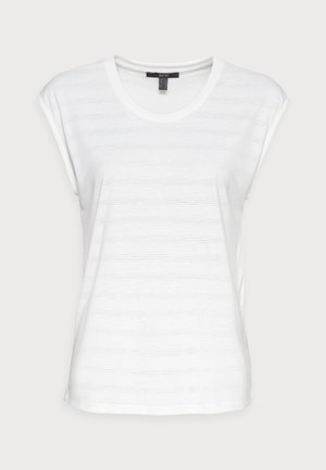 BURNOUT - Print T-shirt - off white