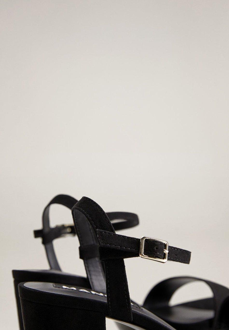 Mango ADORE - Sandales à talons hauts - black - Chaussures à talons femme Limité