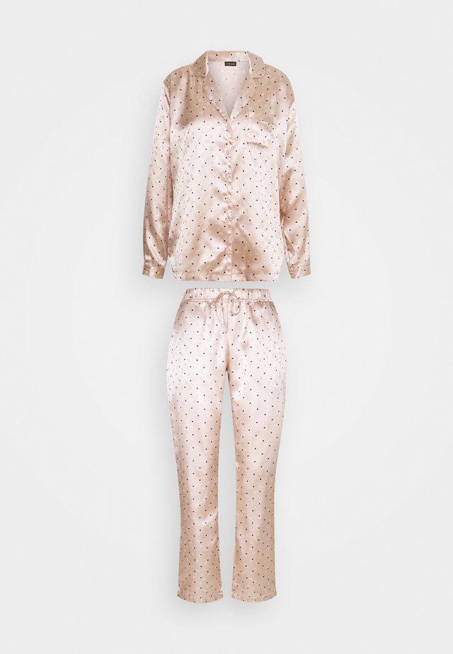 SET - Pyjamas - nude