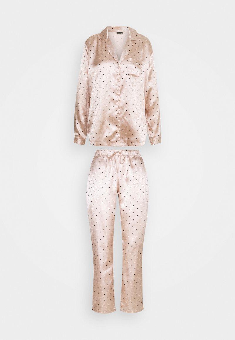 s.Oliver - SET - Pyjamas - nude