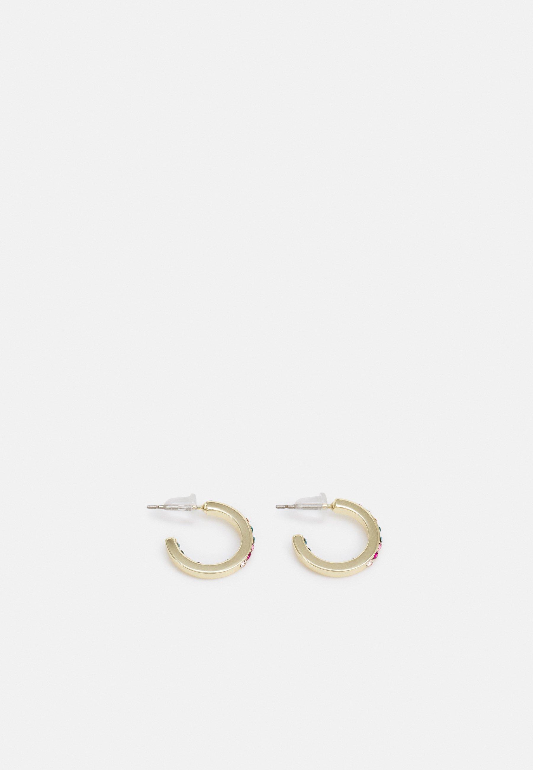 Donna STINE SMALL RING EAR CERISE - Orecchini