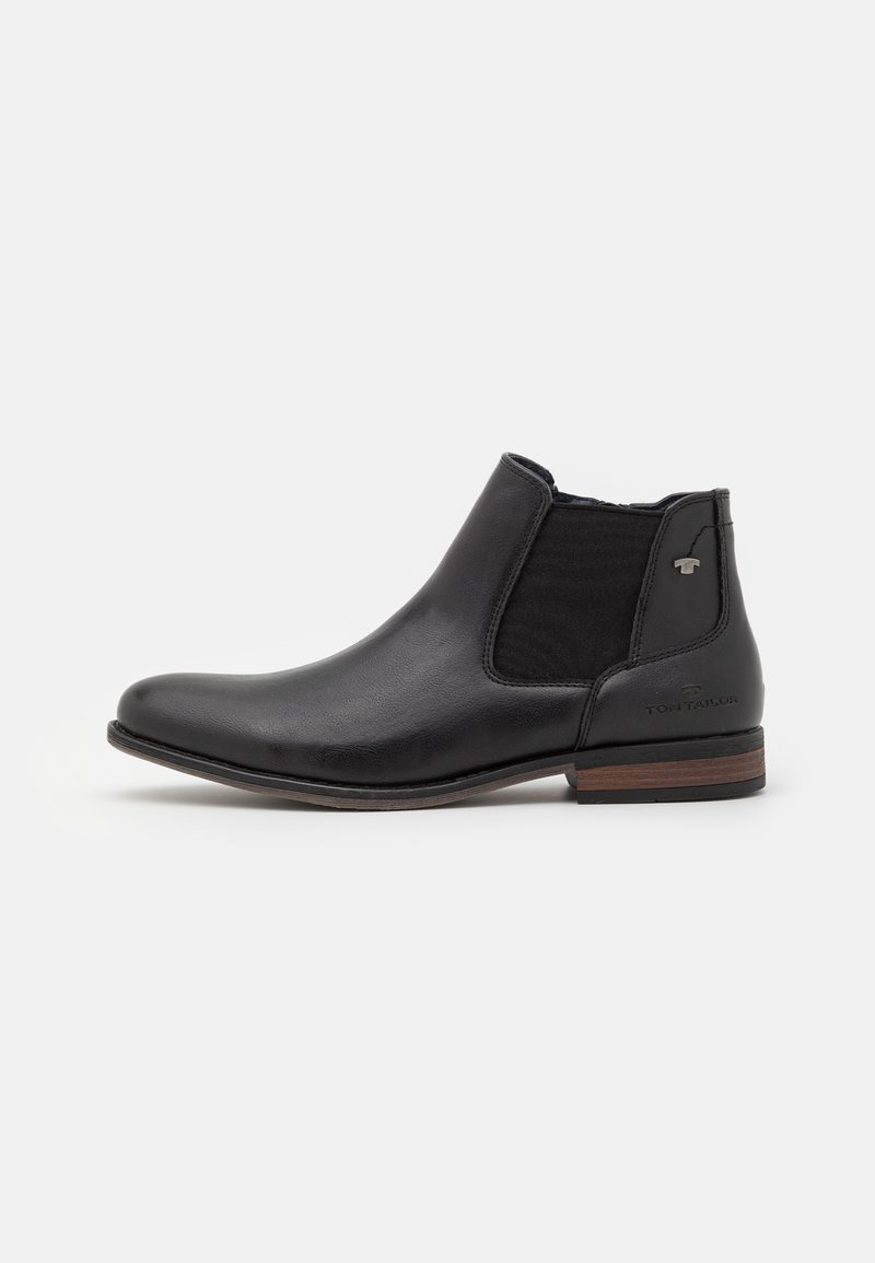 TOM TAILOR - Classic ankle boots - black