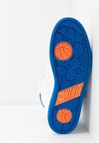Ewing - 33 HI - High-top trainers - white/princess blue/vibrant orange - 4