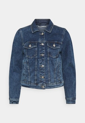 ONLTIA LIFE PUFF JACKET - Denim jacket - medium blue denim