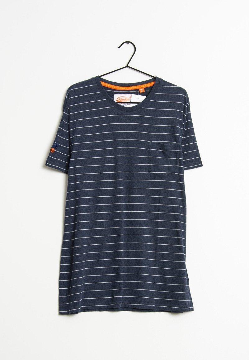 Superdry - T-shirt imprimé - blue