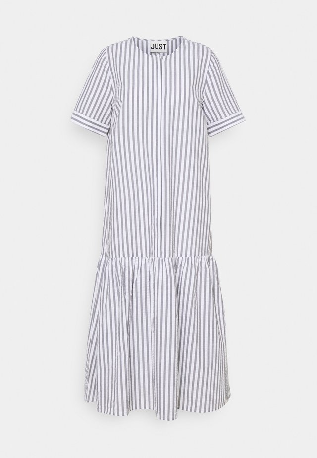 RIALTO PLACKET DRESS - Korte jurk - pavement