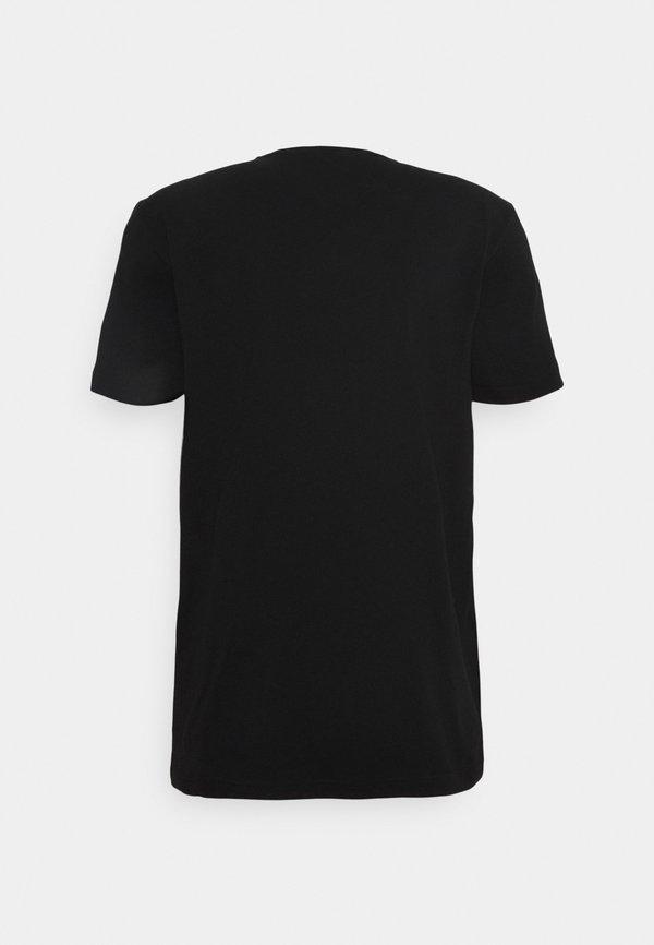Iceberg T-shirt z nadrukiem - nero/czarny Odzież Męska PLZT