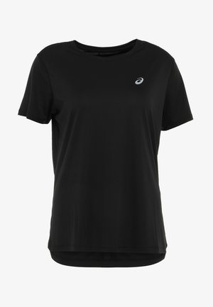 Print T-shirt - performance black