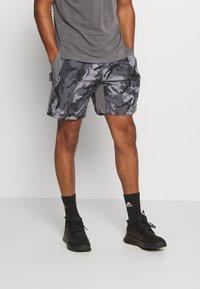 adidas Performance - AEROREADY PRIMEBLUE TRAINING SHORTS - Sports shorts - dovgry/grefou/black - 0