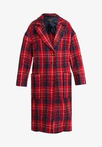 Apart - GLENCHECK COAT - Manteau classique - red/midnightblue/cream - 3