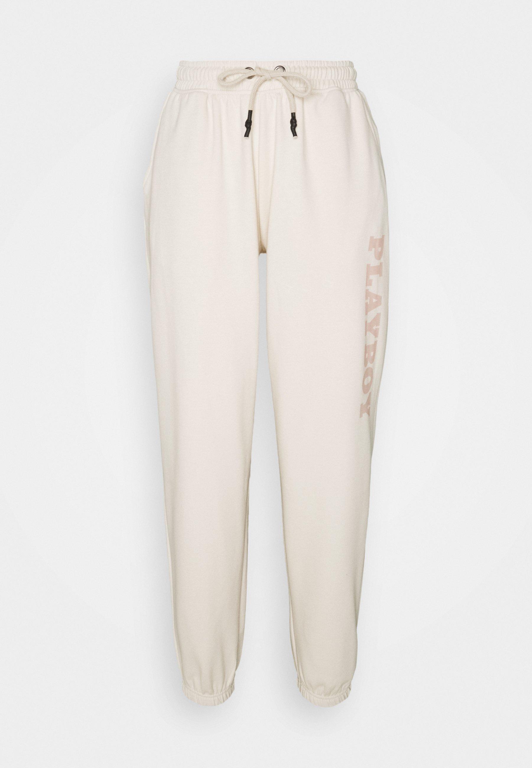 Femme PLAYBOY LOGO OVERSIZED JOGGERS - Pantalon de survêtement