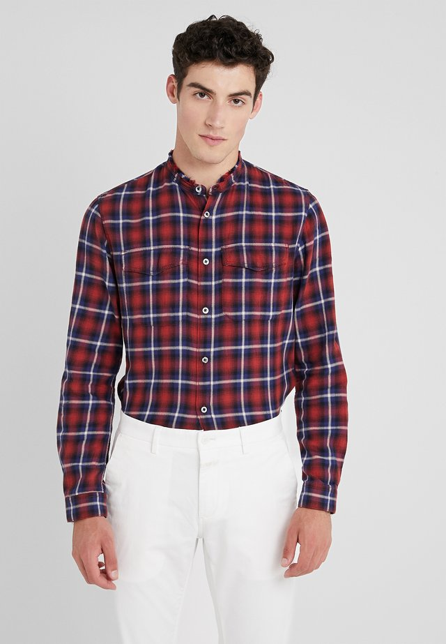 TORROL CHECK - Shirt - rouge