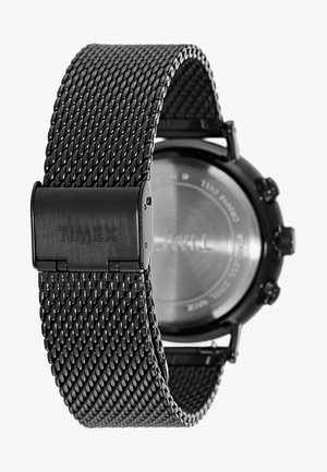 FAIRFIELD CHRONOGRAPH 41 mm MESH - Chronograph watch - black/black