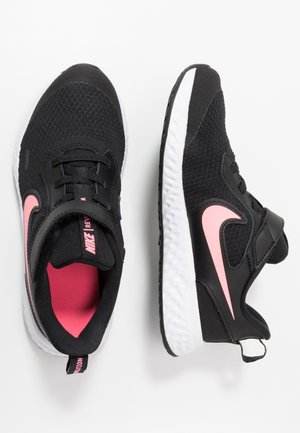 REVOLUTION 5 - Neutral running shoes - black/sunset pulse