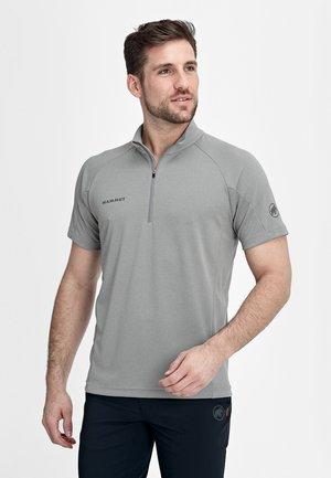 AEGILITY  - T-shirt z nadrukiem - granit melange