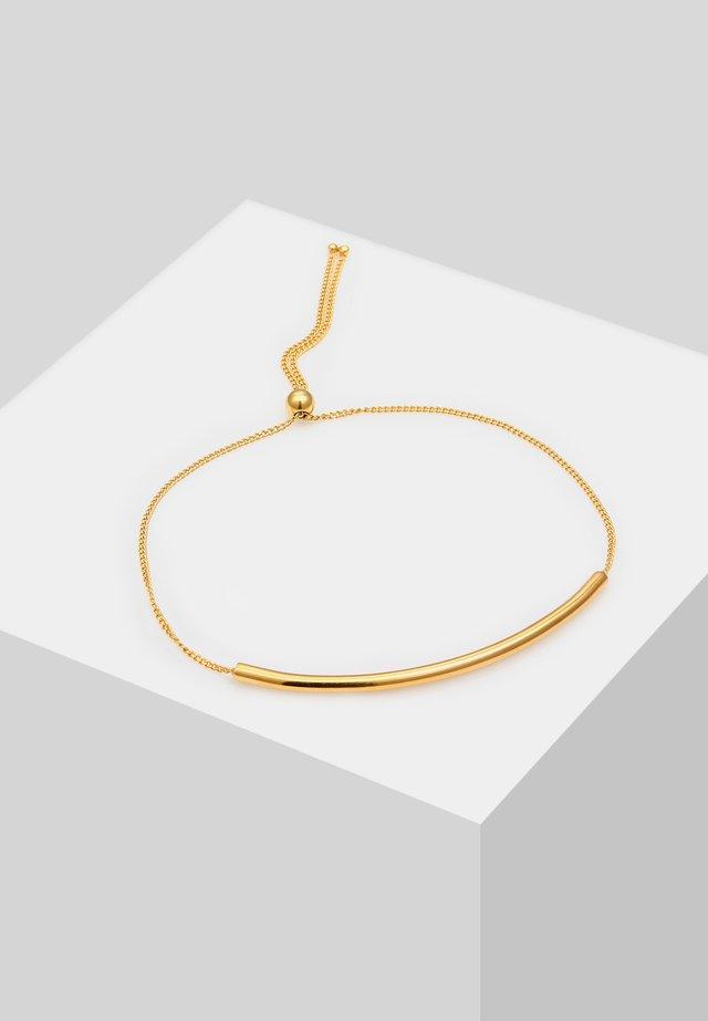 MINIMAL DESIGN VERSTELLBAR - Rannekoru - gold-coloured