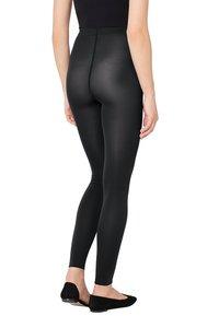Wolford - VELVET - Leggings - Trousers - black - 2