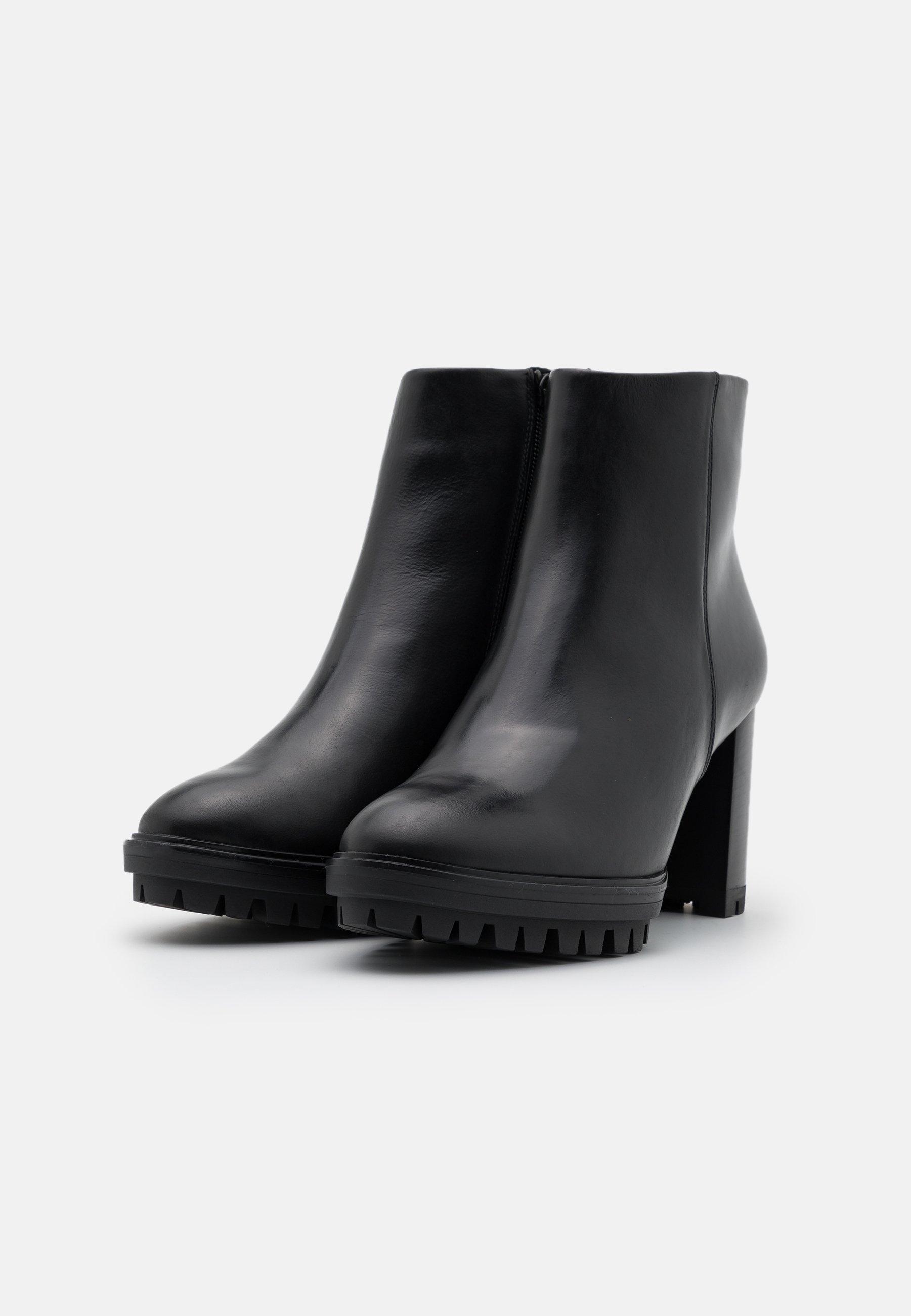Högl High Heel Stiefelette schwarz