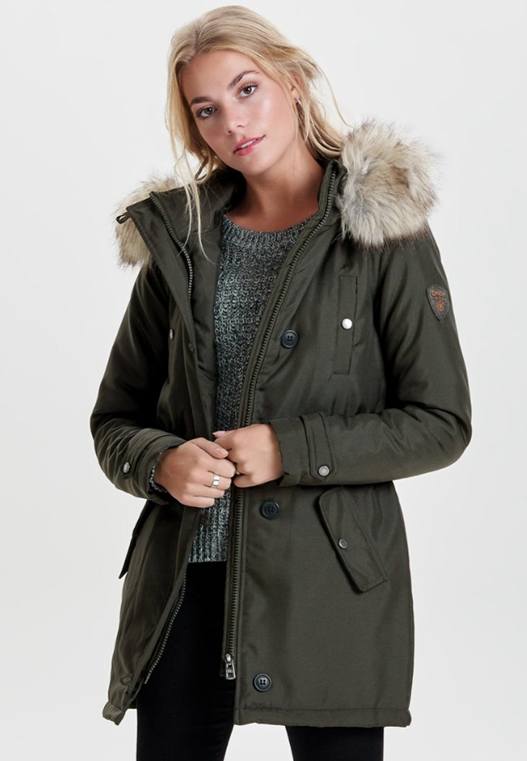ONLY - Parka - peat