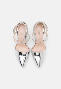 RAID Wide Fit - WIDE FIT KATY - High heels - silver mirror - 4