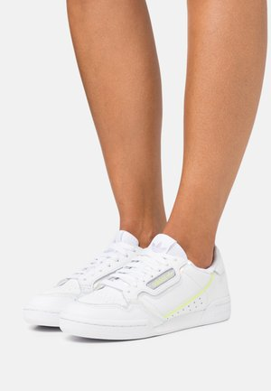 CONTINENTAL 80 SPORTS INSPIRED SHOES - Zapatillas - footwear white/bliss purple/hi-res yellow
