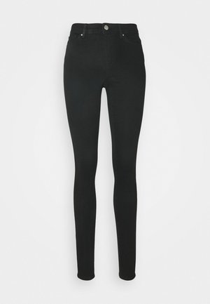 ONLWAUW LIFE - Jeans Skinny Fit - black denim