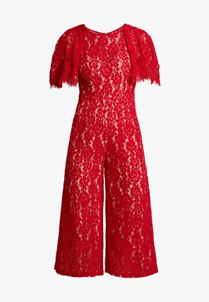 Jumpsuit - red