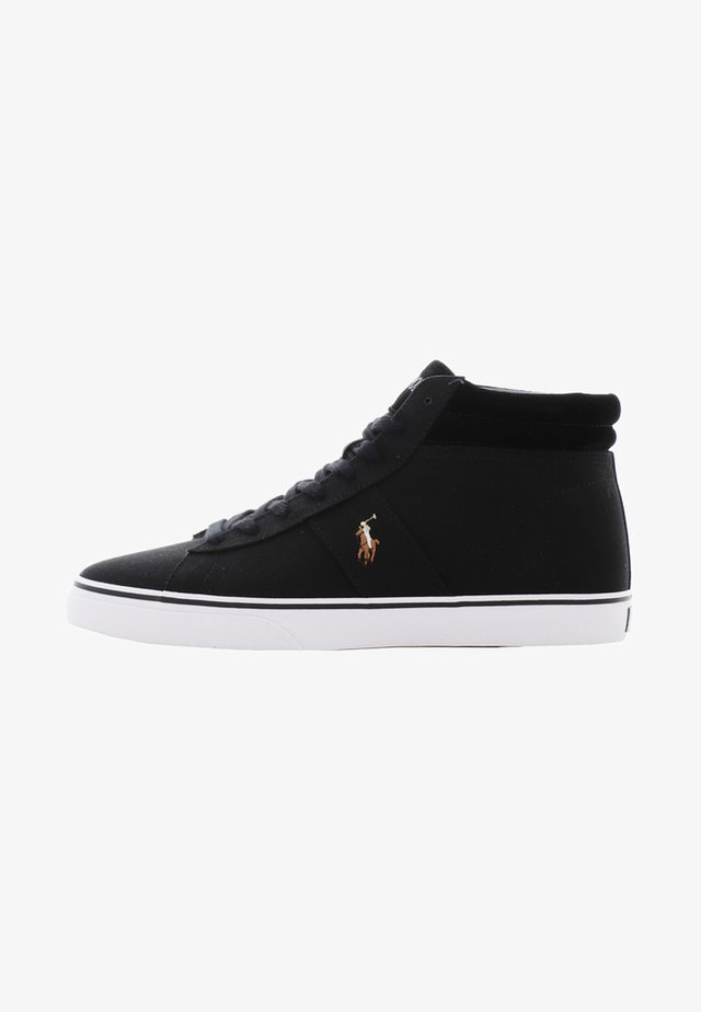 SHAW - High-top trainers - black