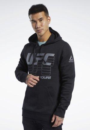 UFC FG HOODIE - Bluza z kapturem - black