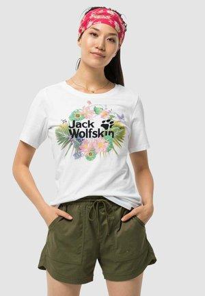 PARADISE - Print T-shirt - white
