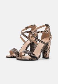 Glamorous - Sandały na obcasie - beige - 2