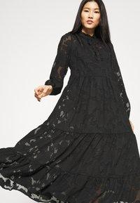 Cream - CRJELENA DRESS 2-IN-1 - Shirt dress - pitch black - 3