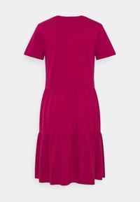 GAP - TIERD - Jersey dress - ruby pink - 1