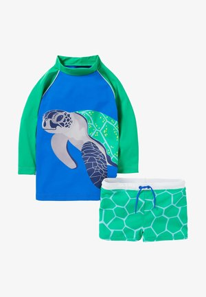 Swimsuit - kleeblattgrün, schildkröte
