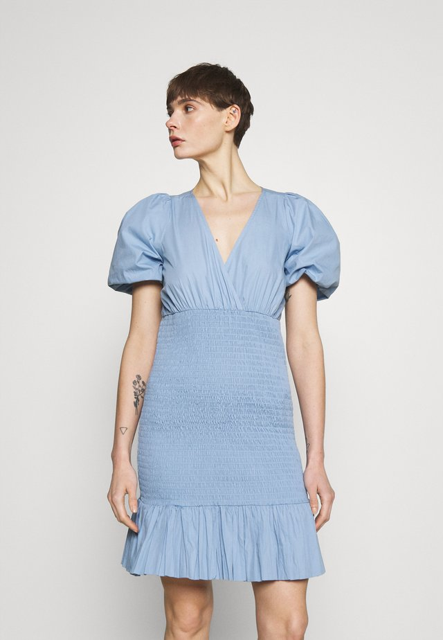 ANINA DRESS - Sukienka letnia - blue