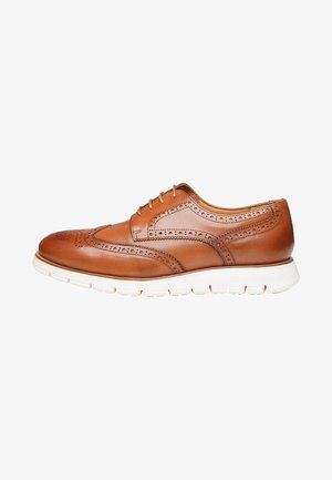 NO. 335 UL - Derbies & Richelieus - cognac