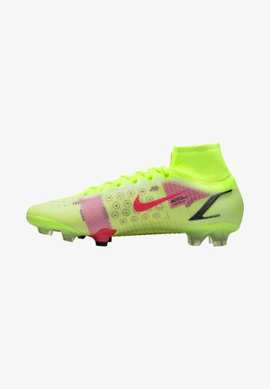 MERCURIAL  ELITE FG - Moulded stud football boots - gelbrotschwarz