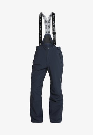 MAN PANT - Pantalon de ski - black blue