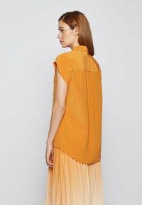 BOSS - Button-down blouse - open yellow - 2